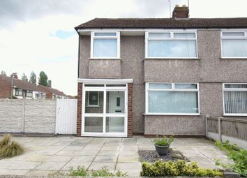 Thumbnail 3 bedroom semi-detached house for sale in Elwyn Drive, Liverpool