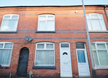 Thumbnail 3 bed terraced house for sale in Wolverton Road, West End, Leicester