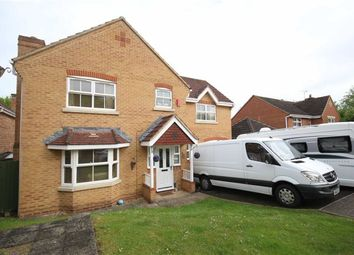 Thumbnail 4 bed detached house for sale in Oakie Close, Swindon