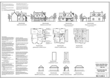 Thumbnail Land for sale in Canada Cottages, Stortford Road, Dunmow