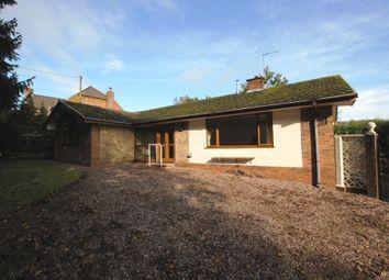 Thumbnail 3 bed detached bungalow for sale in Chapel Lane, Hookgate, Market Drayton