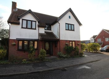 Thumbnail 4 bed detached house for sale in Althorne Close, Burnt Mills, Basildon