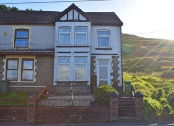 Thumbnail 3 bed end terrace house for sale in Southend Terrace, Pontlottyn, Bargoed, Caerphilly