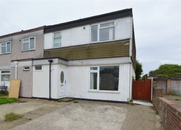 Thumbnail 3 bedroom end terrace house for sale in Jones Close, Southend On Sea, Essex