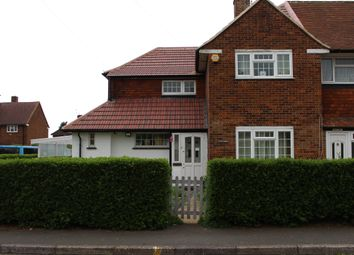 Thumbnail 3 bed semi-detached house for sale in Denham Road, Feltham