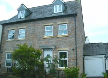 Thumbnail 4 bed semi-detached house for sale in Liskeard, Cornwall