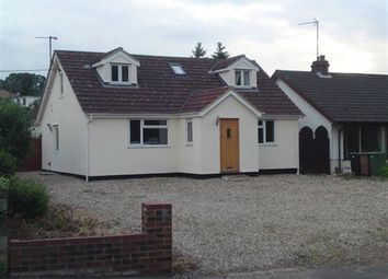 Thumbnail 4 bedroom bungalow to rent in Norwich Road, New Costessey, Norwich