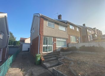 Thumbnail 3 bed semi-detached house for sale in Parc Glas, Cwmdare, Aberdare