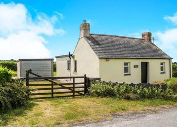 Thumbnail 1 bed detached house for sale in Bryncroes, Pwllheli, Gwynedd