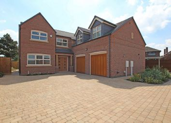 Thumbnail 5 bedroom detached house for sale in Grace Road, Sapcote, Leicester LE9, Sapcote,