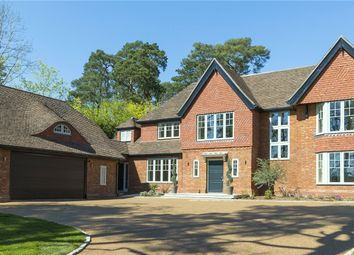 Thumbnail 6 bed detached house for sale in Woodland Drive, East Horsley, Leatherhead, Surrey