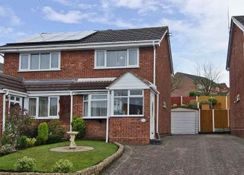 Thumbnail 2 bed semi-detached house for sale in Stevens Drive, Hednesford, Cannock