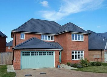 Thumbnail 4 bed detached house to rent in Silverwell Close, Moulton, Northampton
