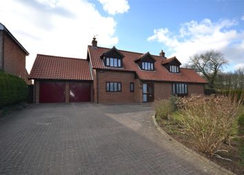 Thumbnail 3 bed property for sale in Station Road, Hillington, King's Lynn