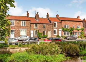 Thumbnail 1 bed terraced house for sale in Levenside, Stokesley, North Yorkshire, Uk