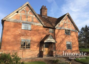 Thumbnail 5 bed farmhouse for sale in Packwood Road, Lapworth, Solihull