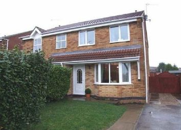 Thumbnail 3 bed semi-detached house to rent in Pendine Close, South Normanton