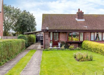 Thumbnail 2 bed semi-detached bungalow for sale in Oxenby Place, Easingwold, York