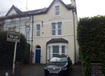 Thumbnail 3 bed flat to rent in York Road, Edgbaston