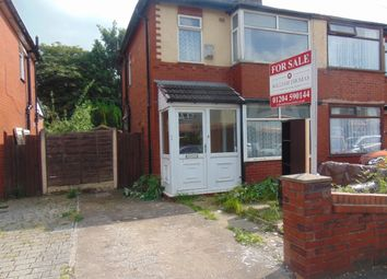 Thumbnail 3 bedroom semi-detached house to rent in Leveredge Lane, Bolton