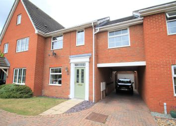 Thumbnail 3 bed terraced house to rent in Magnus Drive, Colchester