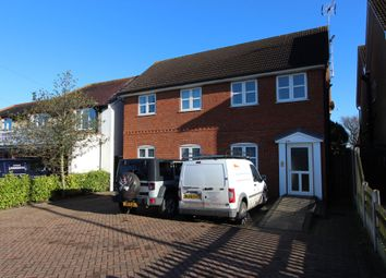 Thumbnail 2 bed flat for sale in Ferry Road, Hullbridge, Essex
