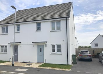 Thumbnail 3 bed semi-detached house to rent in Figgy Road, Quintrell Downs, Newquay