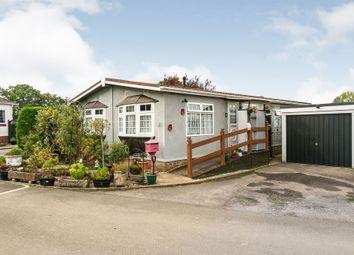 Thumbnail 2 bed mobile/park home for sale in Burnt Oak Lane, Newdigate, Dorking