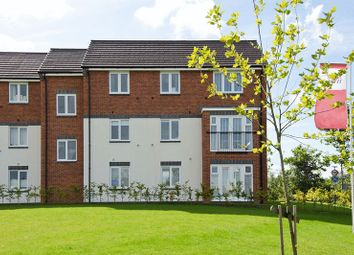 Thumbnail 2 bed flat for sale in Milbourne House, Collis Close, Burntwood