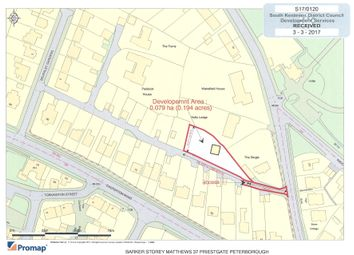 Thumbnail Land for sale in Little Casterton Road, Stamford