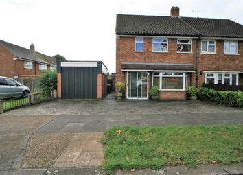 Thumbnail 3 bed semi-detached house for sale in Arnum Road, Aveley