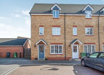 Thumbnail 3 bed end terrace house for sale in Applewood Drive, Hampton Hargate, Peterborough