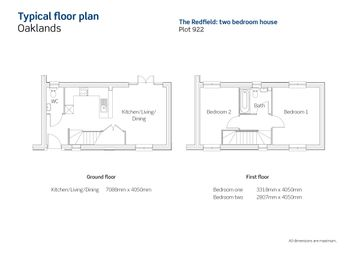 Thumbnail 2 bedroom detached house for sale in Ghurkka Road, Church Crookham, Fleet