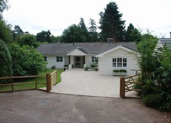 Thumbnail 4 bed detached bungalow for sale in Higher Way, Harpford, Sidmouth