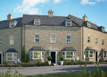 Thumbnail 3 bedroom town house for sale in Herne Road, Oundle, Peterborough