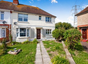 Thumbnail 4 bed semi-detached house for sale in Churchdale Avenue, Eastbourne