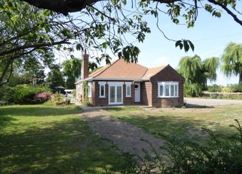 Thumbnail 3 bed detached bungalow for sale in New Road, Terrington St John, Wisbech