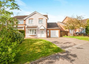 Thumbnail 4 bed semi-detached house for sale in Bodenham Close, Buckingham