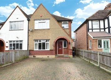 Thumbnail 4 bedroom semi-detached house for sale in Harefield Road, Uxbridge, Middlesex