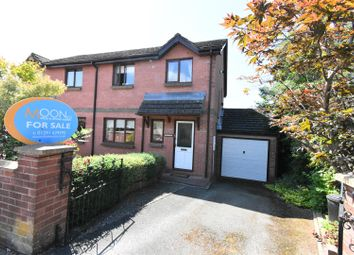 Thumbnail 3 bed semi-detached house for sale in Trelowen, Lawrence Crescent, Caerwent