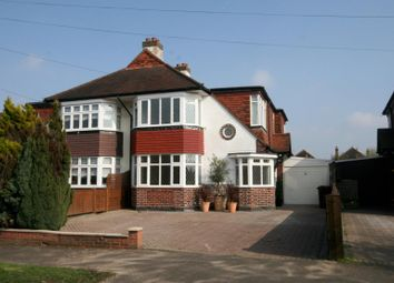 Thumbnail 4 bed semi-detached house to rent in Woodstone Avenue, Stoneleigh, Epsom