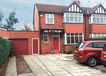 Thumbnail 3 bedroom semi-detached house for sale in Dialstone Lane, Great Moor, Stockport, Cheshire