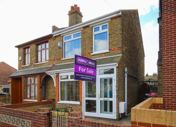 Thumbnail 2 bed semi-detached house for sale in Queens Avenue, Ramsgate