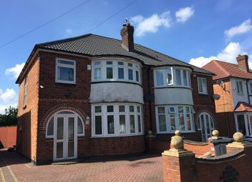 Thumbnail 3 bed semi-detached house to rent in Stonor Road, Hall Green, Birmingham, West Midlands