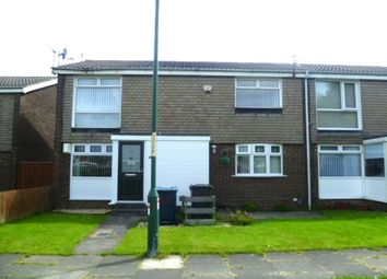Thumbnail 2 bed flat to rent in Lichfield Way, Fellgate, Jarrow