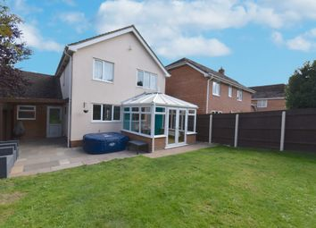 Thumbnail 4 bed detached house for sale in Staples Meadow, Tatworth