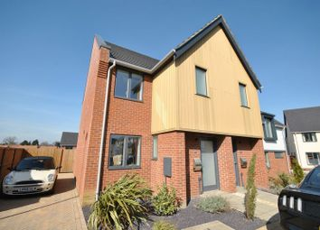 Thumbnail 2 bed semi-detached house for sale in Blaxter Way, Norwich