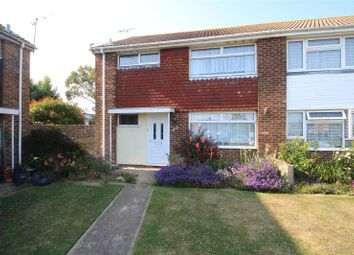 Thumbnail 3 bed semi-detached house for sale in Shadwells Road, Lancing, West Sussex