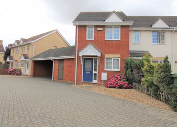 Thumbnail 2 bed property to rent in Speedwell Road, Wymondham