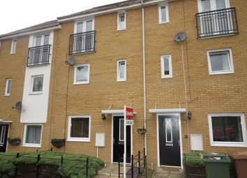 Thumbnail 4 bedroom town house for sale in Lakeview Way, Hampton Centre, Peterborough